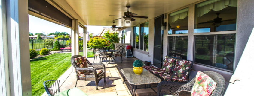Patio sun shades